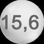 15,6V