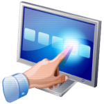 Kassenmonitore mit Touchscreen