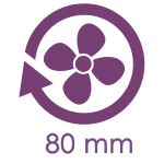 80mm Lüfter
